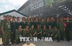 Le Vietnam laisse une bonne impression aux Jeux militaires internationaux 2018