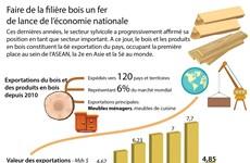 [Infographie] Faire de la filière bois un fer de lance de l'économie nationale