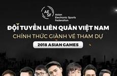 ASIAD 18: L'équipe des sports électroniques prête pour les Jeux asiatiques