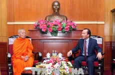 Bouddhisme : le Vietnam et le Laos intensifient la coopération