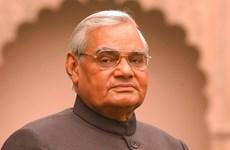 Condoléances pour le décès de l'ancien PM indien Atal Bihari Vajpayee