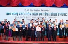 Binh Phuoc : la licence d'investissement délivrée à 19 projets