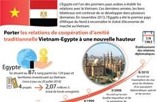 [Infographie] Porter les relations Vietnam-Egypte à une nouvelle hauteur