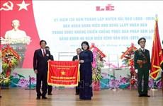 Le district de Hai Hau doit valoriser la tradition révolutionnaire