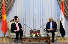 Le Vietnam attache de l'importance à ses relations d'amitié traditionnelle avec l'Egypte