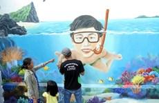 L'IUCN lance un programme de fresques murales à An Binh