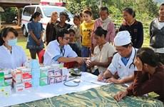 Infirmerie vietnamienne au Laos: au-delà des aides médicales