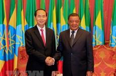 Les visites du président vietnamien en Ethiopie et en Egypte couronnées de succès
