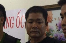 Grande cache d'armes trouvée chez un membre du Viet Tan