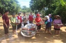 Aide d'urgence de la Croix-Rouge du Vietnam aux provinces touchées par les inondations