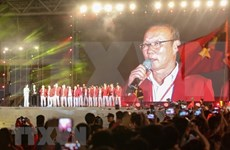 """""""Gloire au Vietnam"""", cérémonie en l'honneur des sportifs en compétition aux ASIAD 2018"""