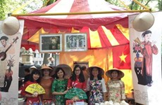 Le Vietnam au festival des ambassades aux Pays-Bas