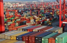 Excédent commercial de 2,8 milliards de dollars en 8 mois