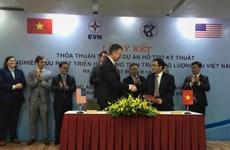 Assistance américaine pour développer un système de stockage d'énergie au Vietnam