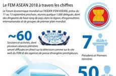 [Infographie] Le FEM ASEAN 2018 à travers les chiffres
