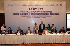 Des entreprises vietnamiennes et danoises coopèrent dans l'agriculture de haute technologie