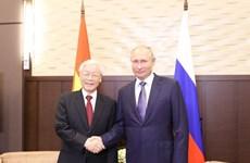 Les médias russes soulignent la signification de la visite du secrétaire général du PCV