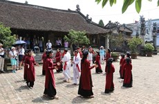Un circuit explore le chant xoan à Phu Tho