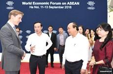 Le PM examine les préparatifs du Forum économique mondial sur l'ASEAN