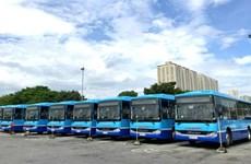 Hanoï: Remplacement des anciens autobus par des véhicules de haute technologie