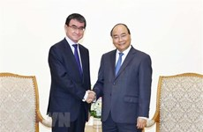 Le PM apprécie le développement des relations entre le Vietnam et le Japon