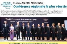 [Infographie] FEM ASEAN 2018 - Conférence régionale la plus réussie