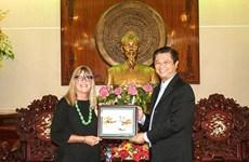 Cân Tho et Australie coopèrent dans divers domaines