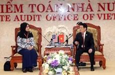 ASOSAI 14 : intensifier la coopération Vietnam-Malaisie dans l'audit