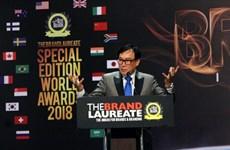 Sélectionner et honorer les meilleures marques du monde en 2018