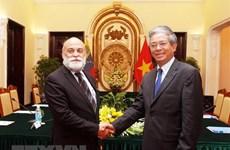 Consultations politiques de vice-ministre Vietnam-Venezuela