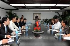Des dirigeants cubains convaincus des belles perspectives de coopération avec le Vietnam