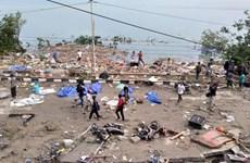Le président indonésien Jokowi arrive à Palu dévasté par le séisme