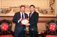 Hô Chi Minh-Ville veut coopérer avec le Royaume-Uni dans le commerce