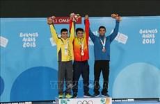 Jeux olympiques de la jeunesse d'été : deux médailles pour le Vietnam en haltérophilie