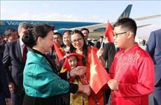 La présidente de l'AN Nguyên Thi Kim Ngân en visite officielle en Turquie