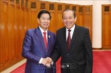 Renforcement de la coopération entre Vientiane et des localités vietnamiennes