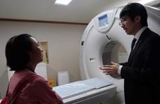 Mise en service d'un centre sanitaire financé par le Japon