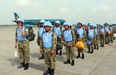 Départ du 2e groupe des forces de maintien de la paix du Vietnam pour le Soudan du Sud