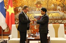 Hanoi accueille à bras ouvert les entreprises finlandaises