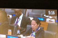 Le Vietnam partage ses expériences en matière de refus de la pauvreté à l'ONU