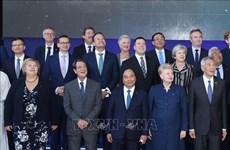 Le PM termine sa tournée en Union européenne et en Belgique pour l'ASEM 12