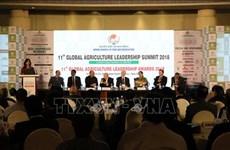 Le Vietnam au 11e Sommet mondial sur le leadership en agriculture en Inde