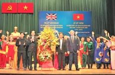 Célébration des 45 ans de l'établissement des liens diplomatiques Vietnam-Royaume-Uni