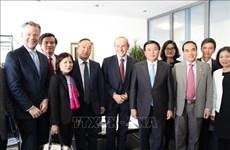 Une délégation du Parti communiste du Vietnam en visite de travail en Suisse