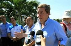 Une délégation du Parlement européen en déplacement à Hai Phong