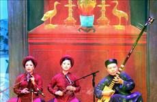 Ouverture du festival national du « ca tru » 2018