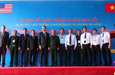 Accomplissement du traitement de la dioxine à l'aéroport international de Da Nang