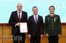 Le Premier ministre russe félicite le Centre tropical vietnamo-russe