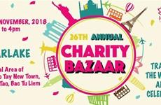La foire de charité HIWC Bazaar 2018 aura lieu le 18 novembre à Hanoi