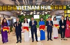 Ouverture d'une zone de promotion du commerce du Vietnam à Shanghai